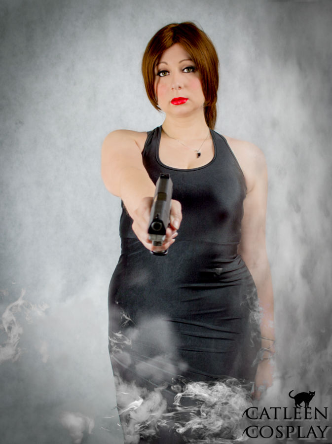 tomb raider legend black dress