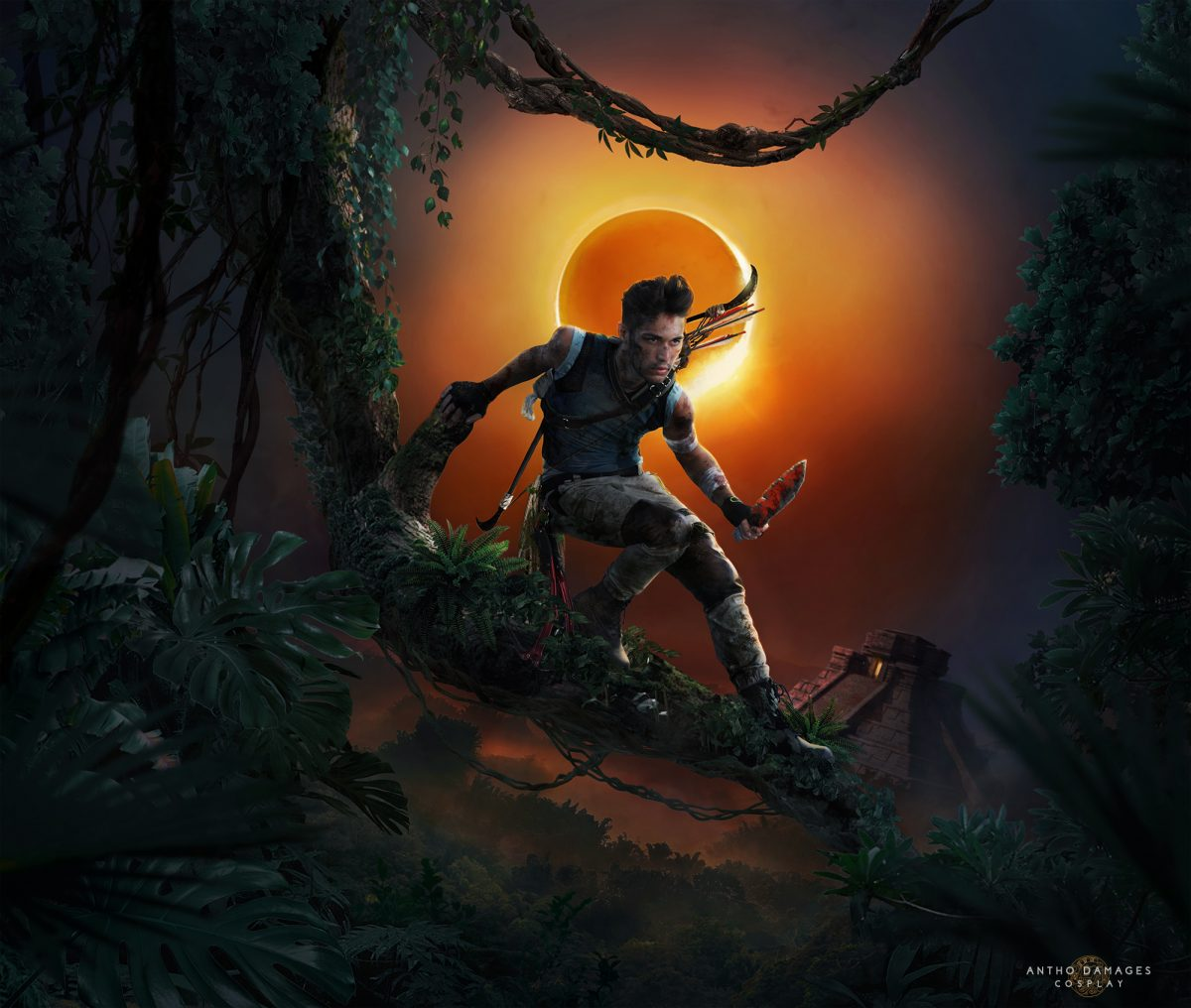 Shadow Of The Tomb Raider Lara Croft Male Version Tomb