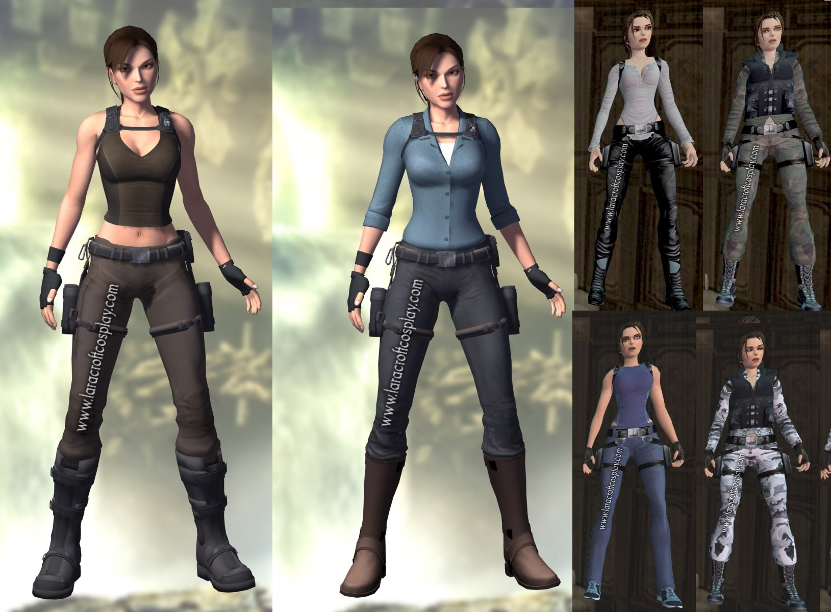 Outfits Tomb Raider Cosplay