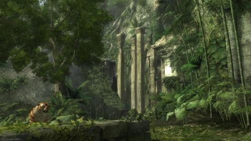 Tomb Raider Underworld Backgrounds