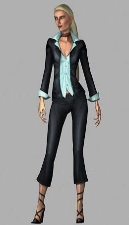 Tomb Raider Anniversary Characters